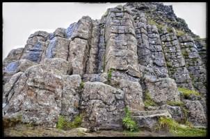 Dverghamrar or Dwarf Rocks - more columnar basalt