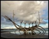 The Sun Voyager, Reykjavik harbor