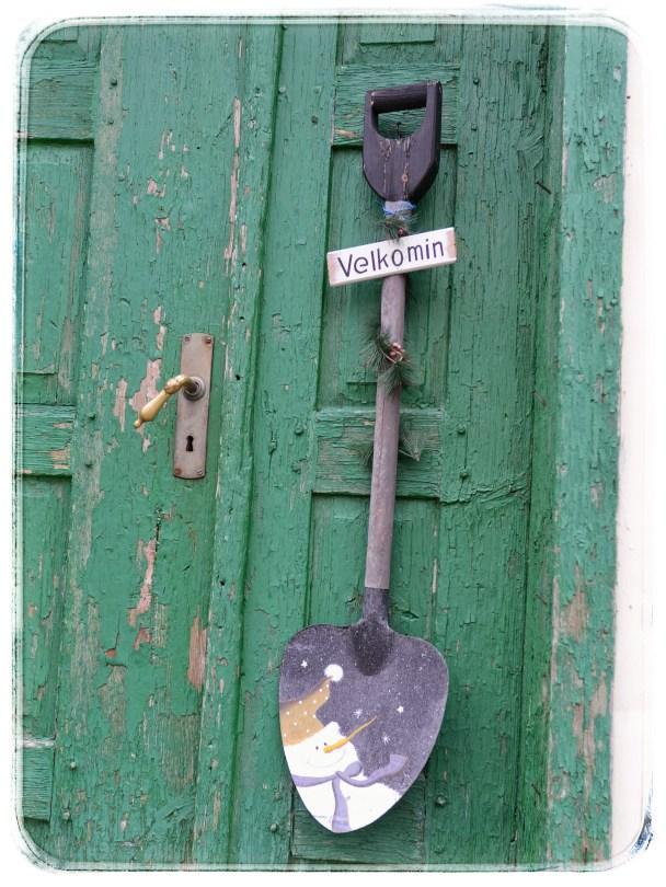 Detail - residential door  - Isafjördur