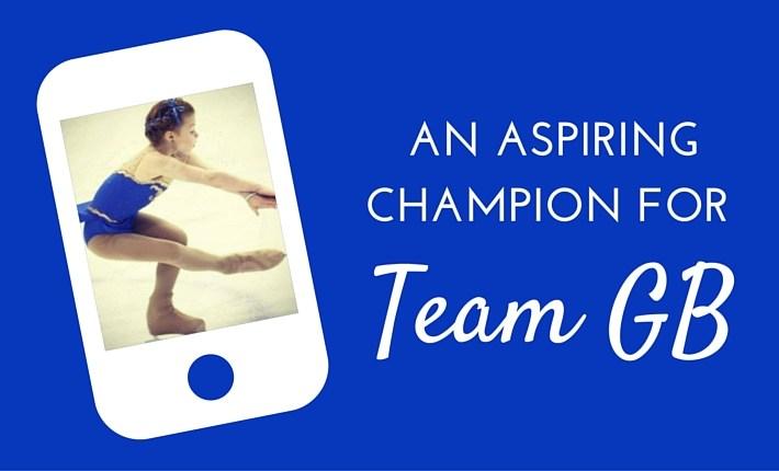 aspiring champion for team GB