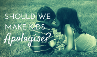 Should We Make Children Apologise?