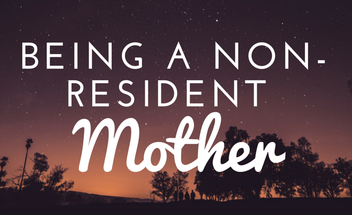non-resident mother
