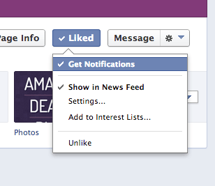 Facebook Get Notifications