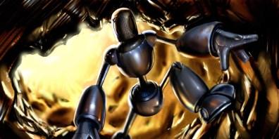 Robot 2, digital art by Junior Tomlin