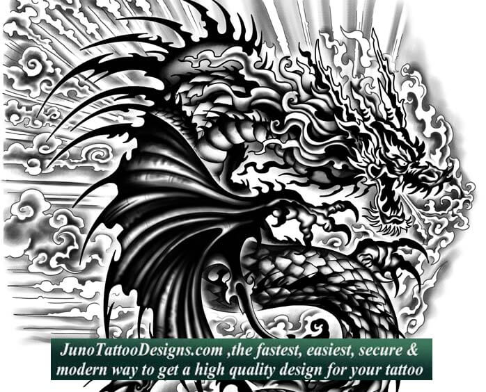dragon tattoo, juno tattoo designs