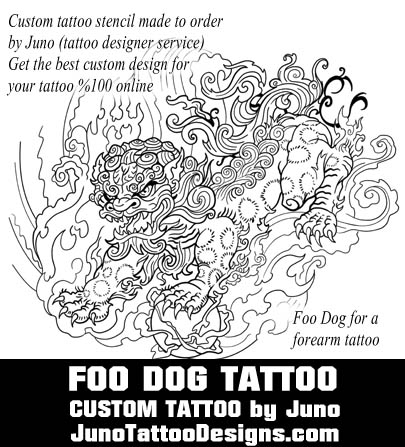 foo dog tattoo template by juno tattoo design how to create a tattoo 0 online. Black Bedroom Furniture Sets. Home Design Ideas
