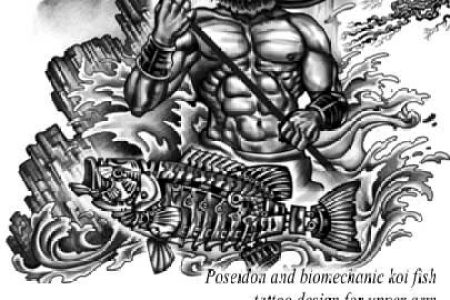 poseidon tattoo greek mythology tattoo juno tattoo designs
