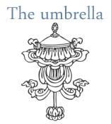 tibetan umbrella