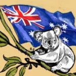 koala bear tattoo, australian flag tattoo, aussie flag tattoo, juno tattoo designs