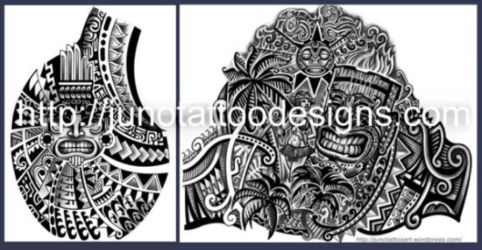 samoan_polynesian custom tattoo
