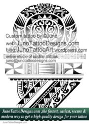 Polynesian samoan tattoo - junotattoodesigns