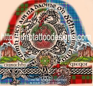 scotish_celtic_half_sleeve_tattoo_design