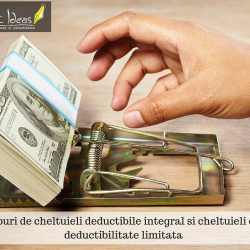 Tipuri de cheltuieli deductibile integral si cheltuieli cu deductibilitate limitata