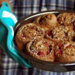 Sourdough Journal #10: Strawberry Coconut Pecan Sourdough Cinnamon Rolls