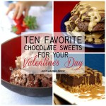 10 Favorite Chocolate Sweets For Your Valentine's Day