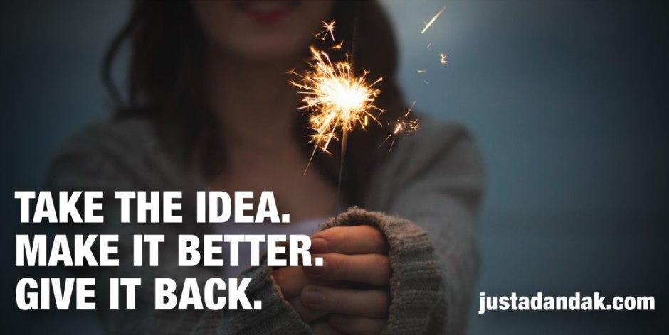 take the idea
