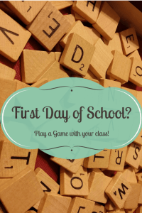 What to do with students on the first day of school?  Play a fun game to get students moving and excited about the new school year!
