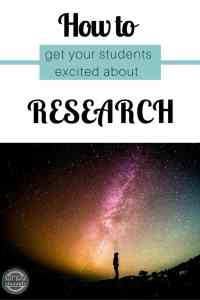 Encourage students to follow their questions by using these seven steps to create research topics your students will want to explore!
