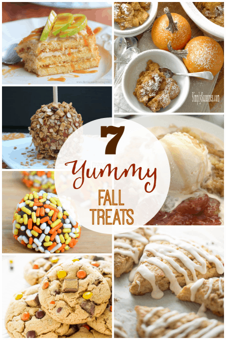 7 Yummy Fall Treats