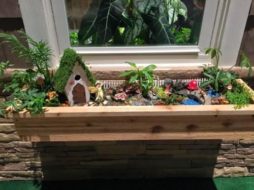 Medium Of Backyard Garden Planter Box