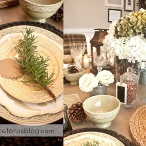 {Dishes for Thanksgiving} with DaySpring