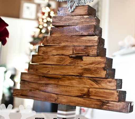Learn How to make this Wooden TableTop Tree