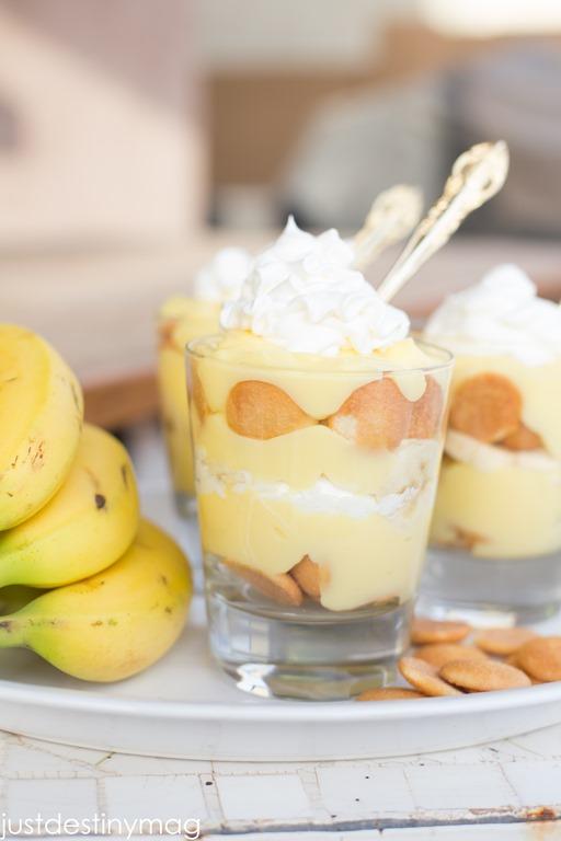 Easy Banana Pudding #itsaspringthing Blog Hop and Linky Party