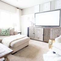 Fresh Paint, New Prints and a New Furniture | Family Room Update