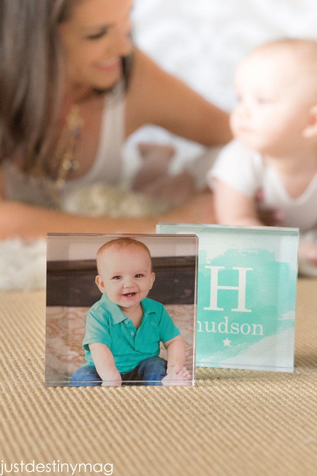 Shutterfly Baby Acrylic Blocks for Room