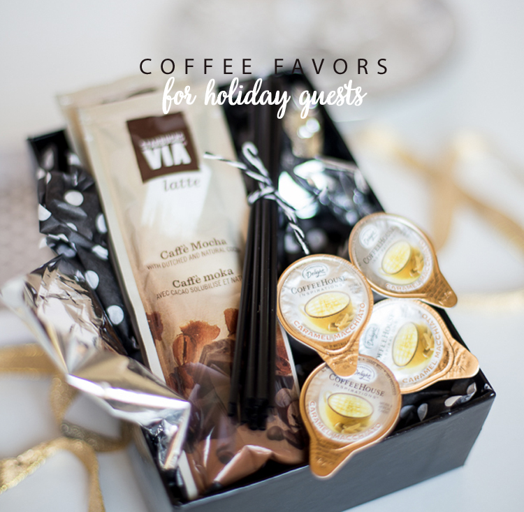 Coffee Favors for Guests
