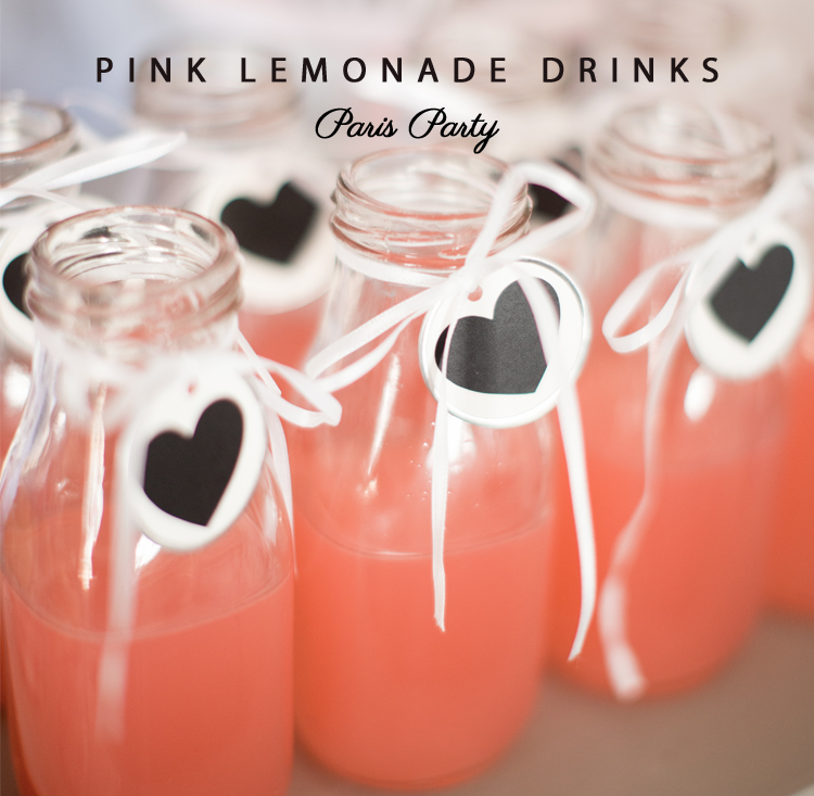 Paris Party Drinks for Kids