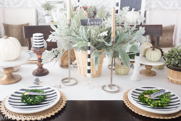 Thanksgiving Table Ideas - Just Destiny Mag-13