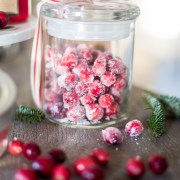 Candied Cranberries