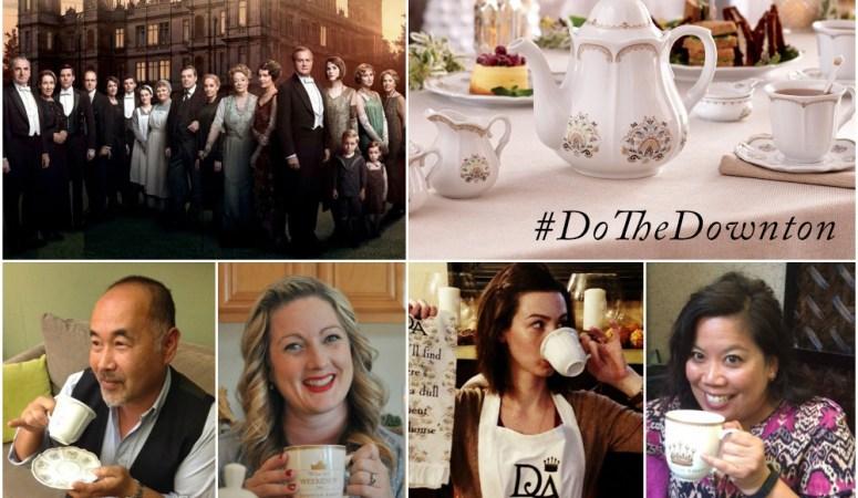 Downton Abbey Virtual Tea Party!