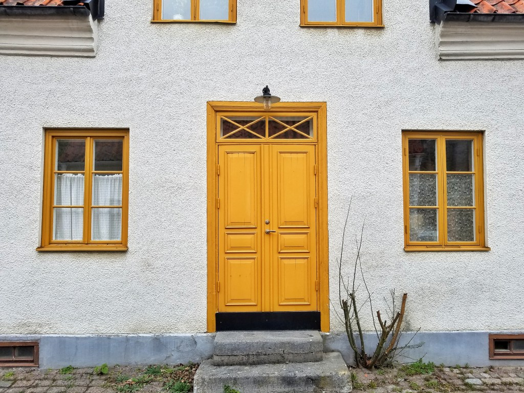 Visby Yellow Door