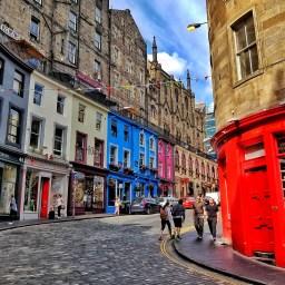 Scotland Road Trip Part 1:  Edinburgh