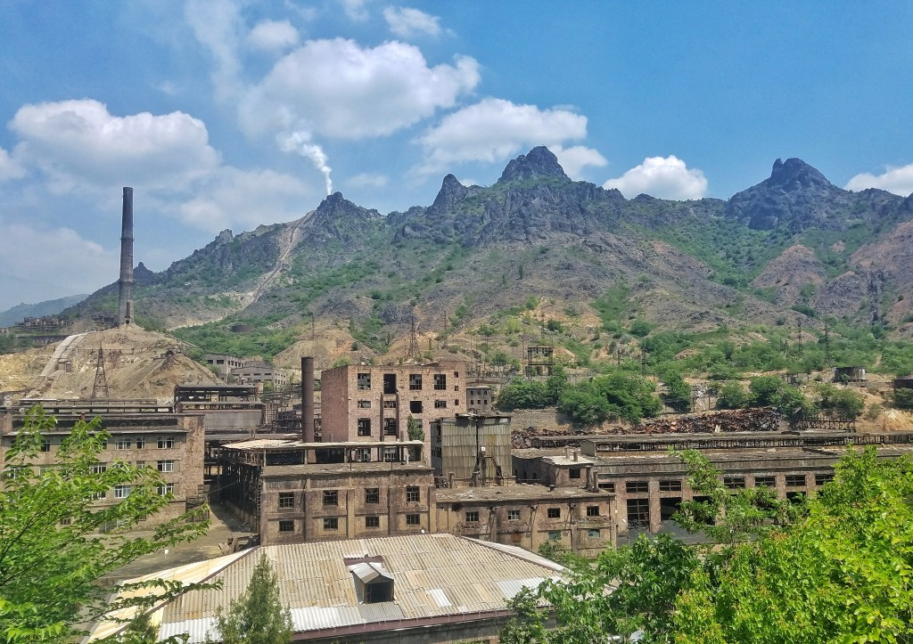 copper smelting factory armenia
