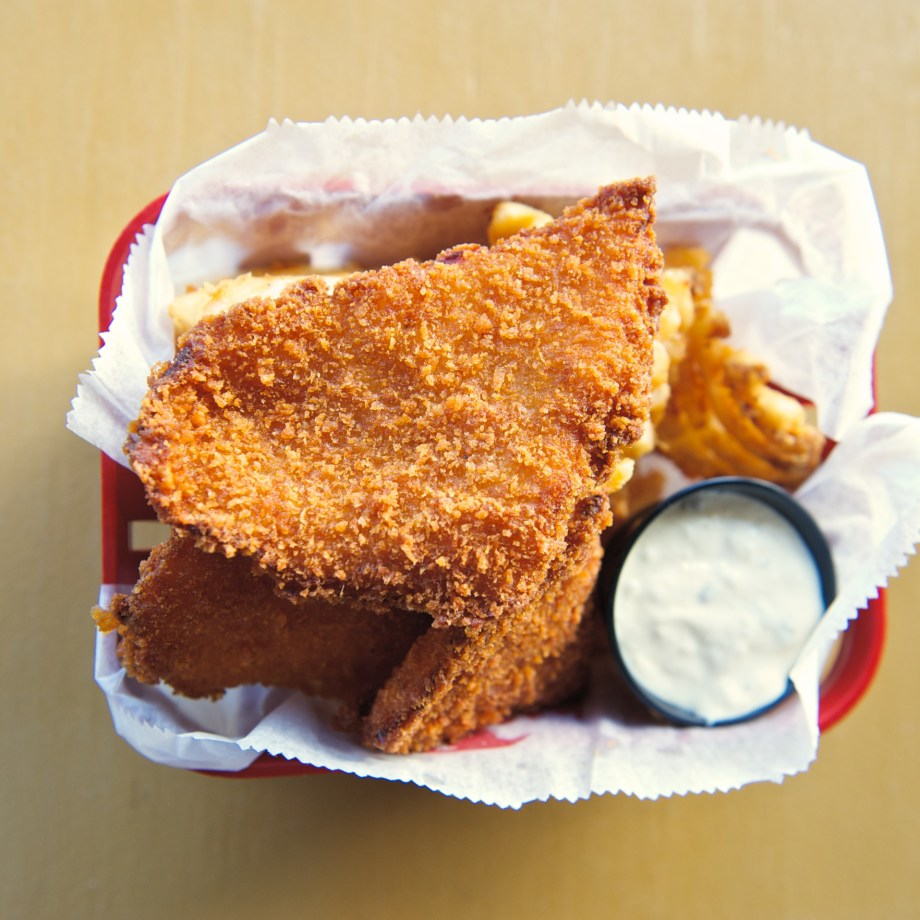 Fish and Chips from Duffy's in Vieques