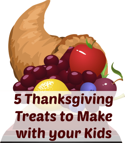 thanksgiving treats to make with kids