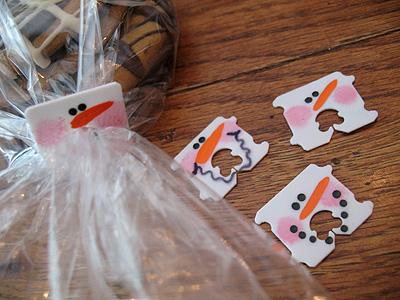 snowmen tags