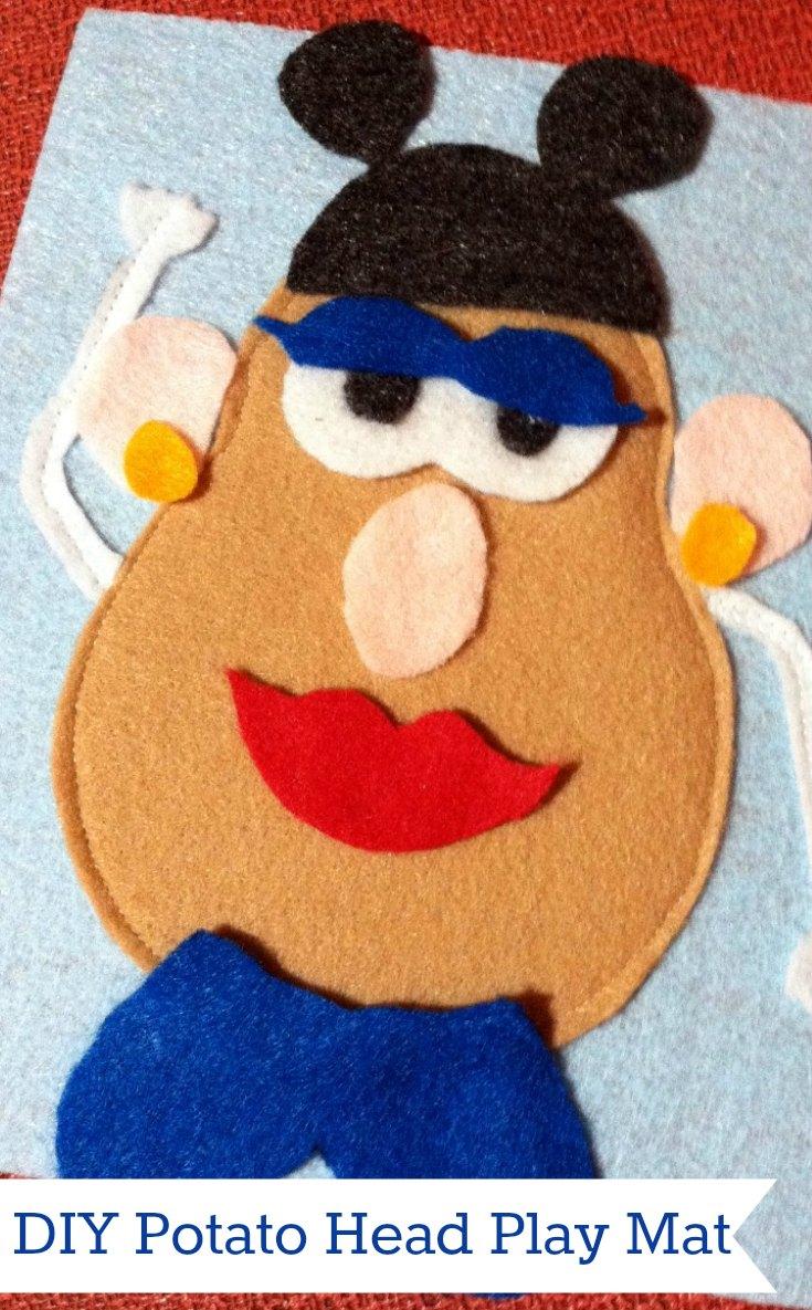 Make your own Mr. Potato Head Play Mat