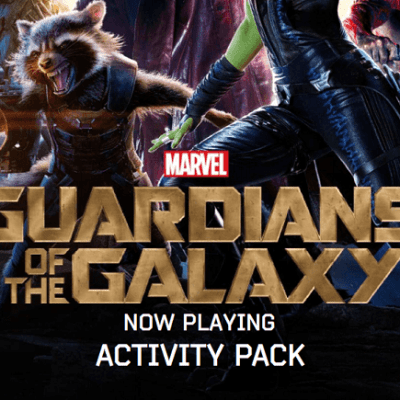 Guardians of the Galaxy free printable activity pack