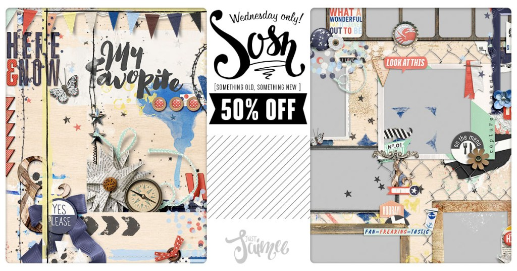 New! A Stacked Mess + Frames June Storyteller Add-ons