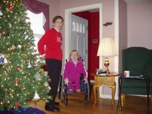Amanda and Grandma G