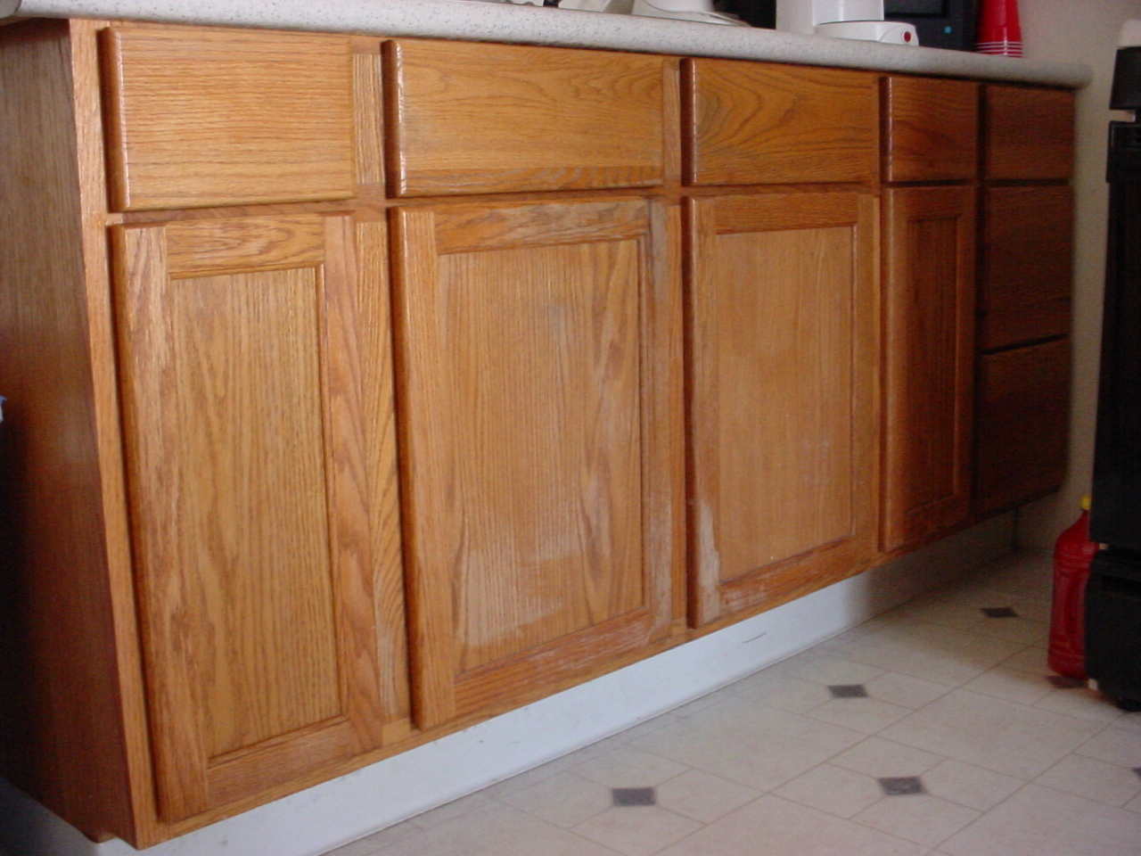 re varnish kitchen cabinets old kitchen cabinets Cabinets