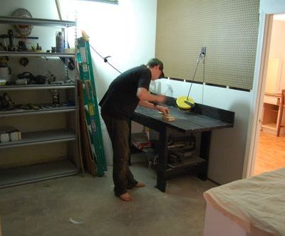 Progress so Far (Garage Remodeling Project)
