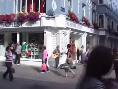 Ed Sheeran's humble beginnings in streets