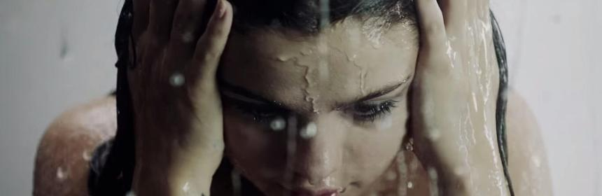 selena gomez dripping wet and hot in good for you music video