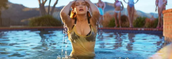 gigi hadid in how deep is your love music video