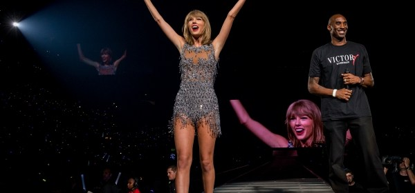 taylor swift pictures the 1989 world tour staples center la kobe bryant ryan tedder